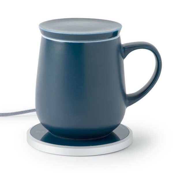 Self Warming Ceramic Mug Doubles and Wireless Charger