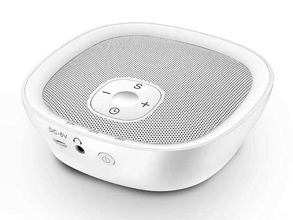 Sleepbox Portable White Noise Machine with 22 Soothing Sounds
