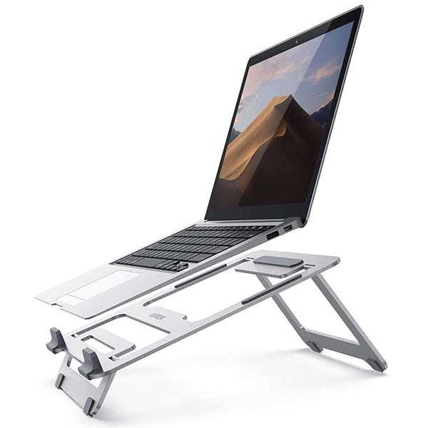 UGREEN Riser Aluminum Foldable Laptop Stand Supports Up to 16-Inch Laptops