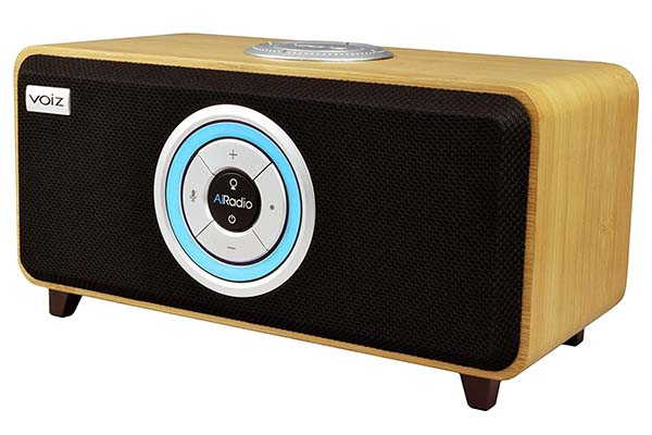 Voiz AiRadio VR-80B Alexa Smart Speaker and Internet Radio