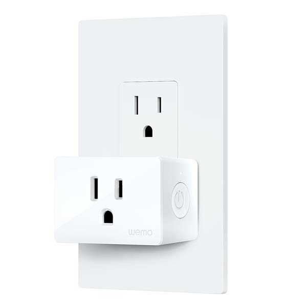 Belkin Wemo Compact WiFi Smart Plug Supports Alexa, Google Assistant and Apple HomeKit