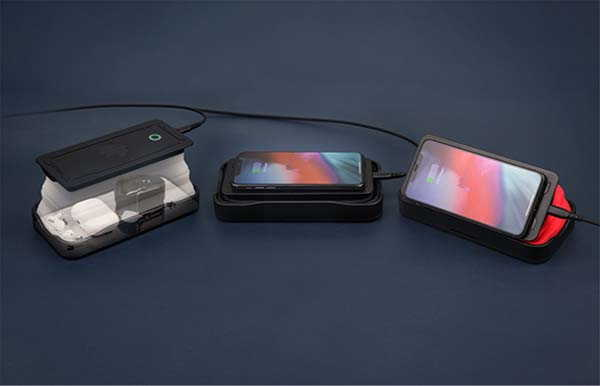 Cell Collapsible UV Sanitizer and Wireless Charger