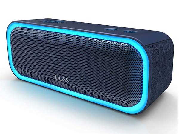 DOSS SoundBox Pro Portable Bluetooth Waterproof Speaker with Active Extra Bass