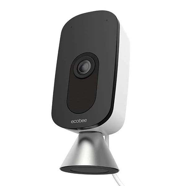 ecobee SmartCamera Smart Indoor Security Camera with Alexa Built-in