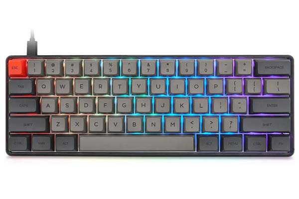 Epomaker SK61 61 Key Compact Mechanical Keyboard with RGB Backlit