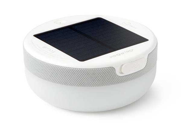 Explore Portable Solar LED Lamp with Bluetooth Speaker