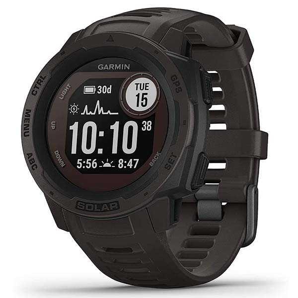Garmin Instinct Solar GPS Smartwatch with Solar Charging