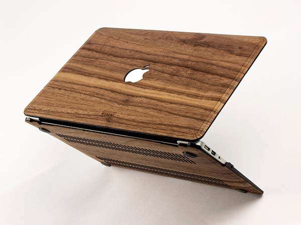 Handmade Wooden MacBook Case Brings Some Natural Aesthetics onto Your MacBook