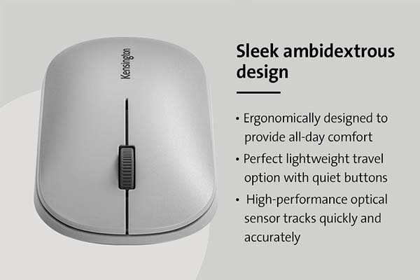 Kensington SureTrack Dual Wireless Mouse