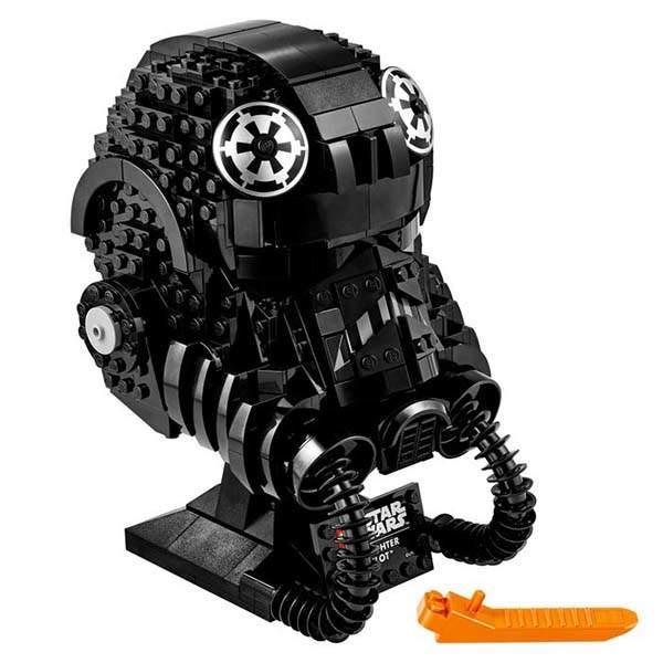 LEGO Star Wars Tie Fighter Pilot Helmet Building Kit