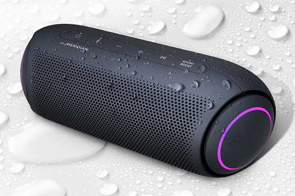 LG PL5 XBOOM Go Portable Bluetooth Party Speaker with IPX5 Water-Resistant Design