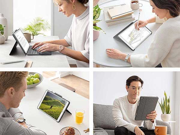 Logitech Combo Touch 10.2-Inch iPad Keyboard Case with Trackpad