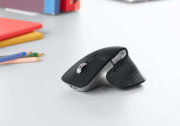 Logitech MX Master 3 Advanced Wireless Mouse and MX Keys Wireless Keyboard for Mac