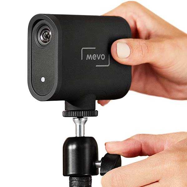 Mevo Start Live Streaming Camera with 3 MEMS Microphone Array