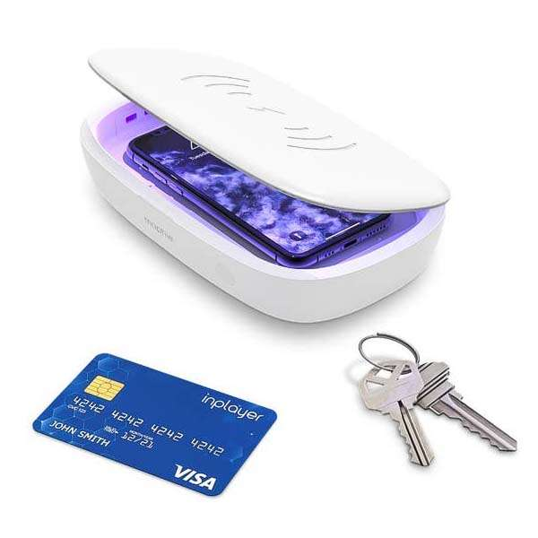 Mophie UV Sanitizer with Wireless Charger
