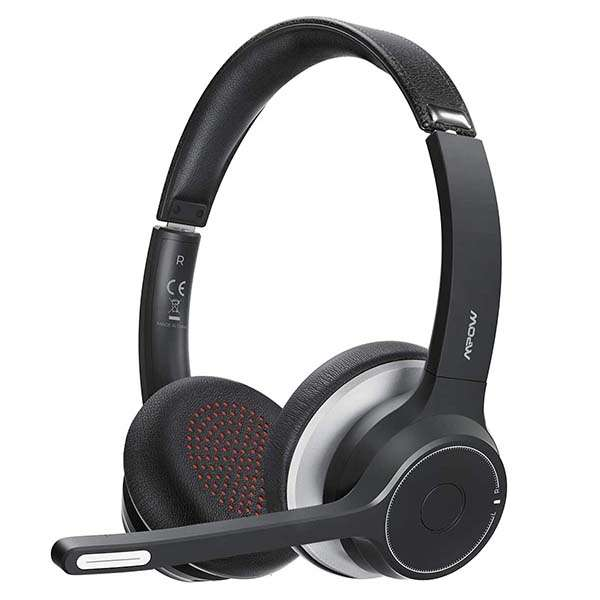 Mpow HC5 Business Bluetooth Headset with Noise Canceling Microphone
