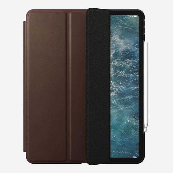 Nomad Rugged Folio iPad Pro Leather Case