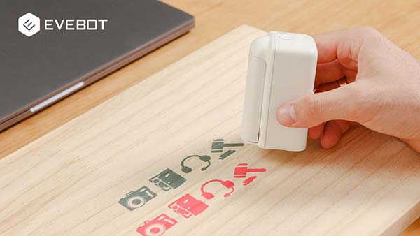 PrintPods Ultra Portable Handheld Printer Works on All Surfaces