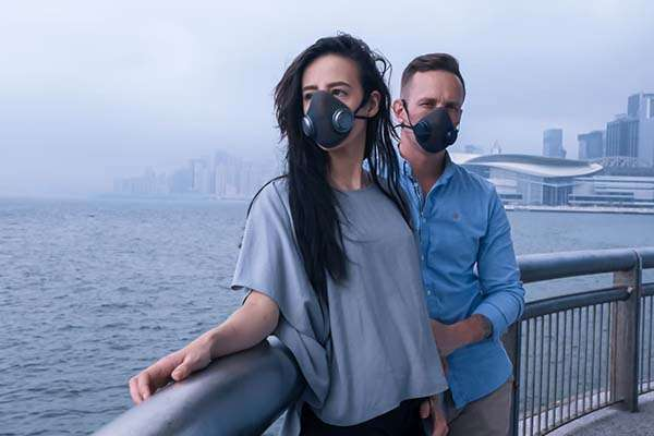 purME Modular Gas Face Mask with Interchangeable P100 and N95 Filters