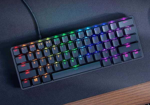 Razer Huntsman Mini 60% Gaming Mechanical Keyboard with Chroma RGB Lighting