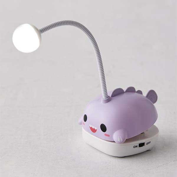 Smoke Cute LED Book Light with a Bendable Cord