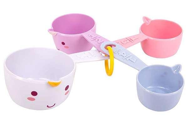 Smoko Elodie Unicorn Measuring Cup Set
