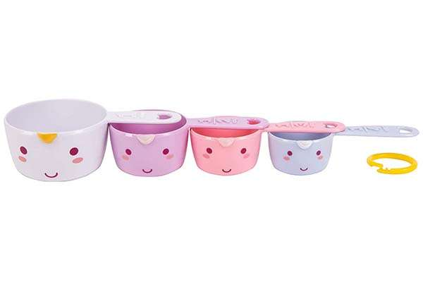 Smoko Elodie Unicorn Measuring Cup Set