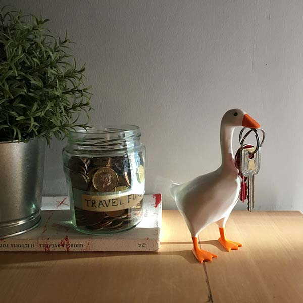 3D Printed Untitled Goose Magnetic Key Holder