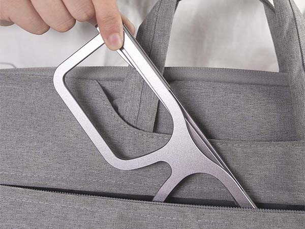8AM Aluminum Foldable Laptop Stand Inspired by Glasses