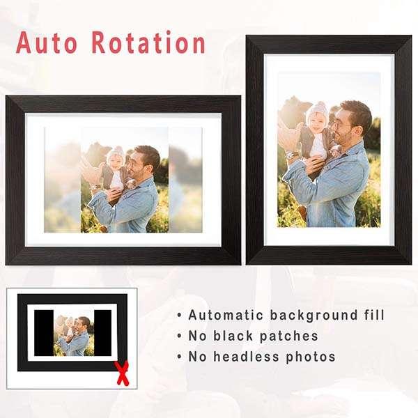 AEEZO WiFi Digital Picture Frame with 16GB Internal Storage