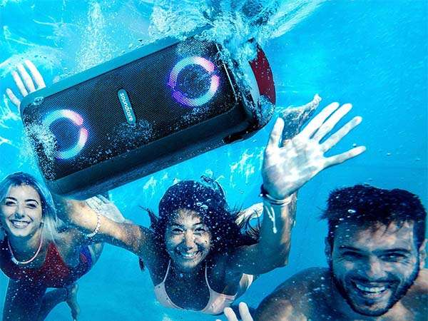 Anker Soundcore Mega Bluetooth Party Speaker with IPX7 Waterproof Rating