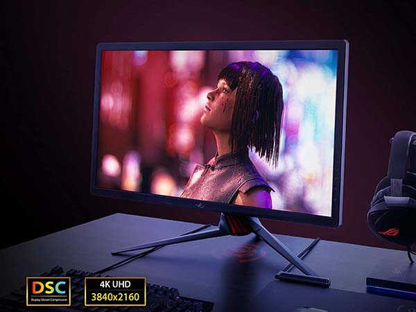 ASUS ROG Strix XG27UQ HDR 4K Gaming Monitor with 144Hz  Refresh Rate