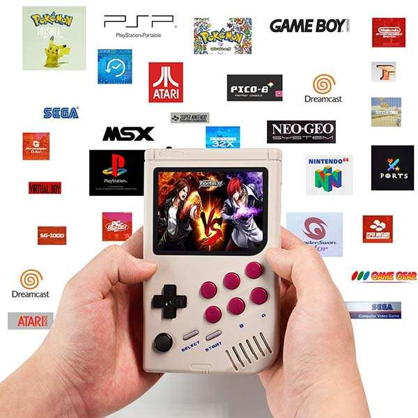 CLC Handheld Game Console Powered by Raspberry Pi 3A+
