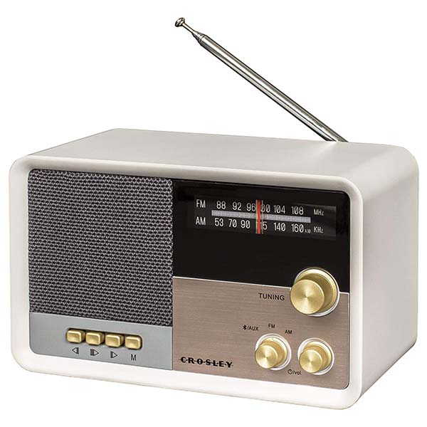 Crosley CR3036D Tribute AM/FM Bluetooth Radio