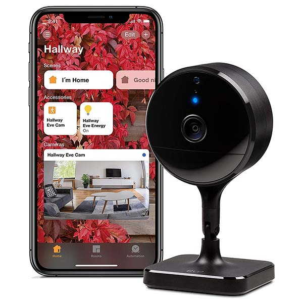 Eve Cam Indoor Security Camera Supports Apple HomeKit