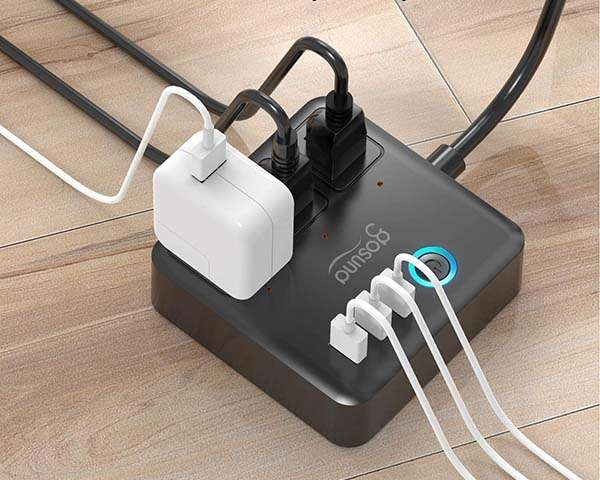 Gosund Smart Power Strip Supports Amazon Alexa and Google Home