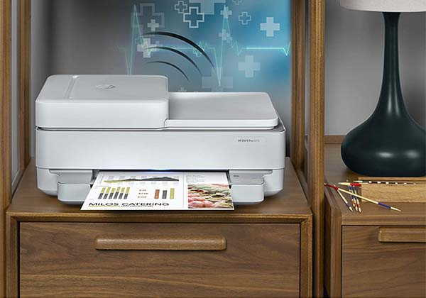 HP ENVY Pro 6455 Wireless All-In-One Printer with Auto Document Feeder
