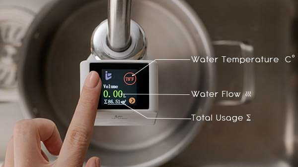 iFlow Pro Touchless Smart Faucet Adapter for Saving Water and Convenience