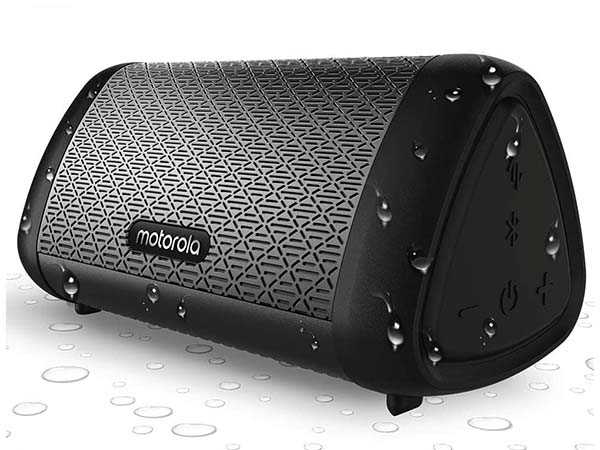 Motorola SonicSubs530 Portable Bluetooth Speaker with IPX5 Water Resistant Design