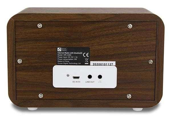 Ocean Digital WR-336N WiFi Internet Radio with Bluetooth