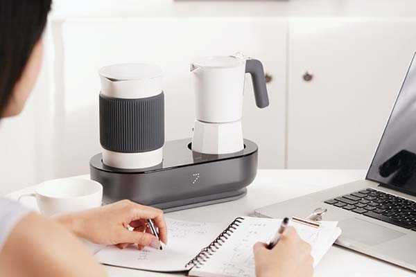 Seven & Me Espresso Maker and Milk Frother