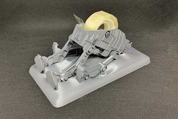Star Wars 3D Printed AT-AT Tape Dispenser