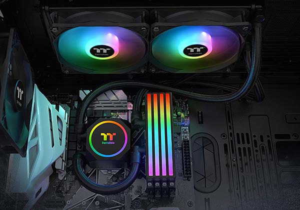 Thermaltake Floe All-in-One Memory & CPU Liquid Cooler with ARGB Controller