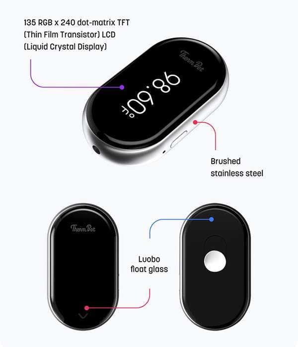 ThermBot Mini Smart Thermometer Supports Amazon Alexa, Google Home, Apple HomeKit and IFTTT