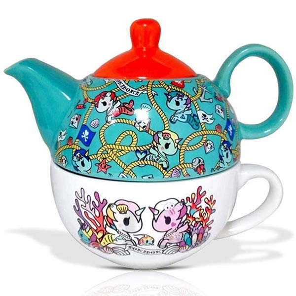 Toki Doki Decorative Ceramic Teapot Set