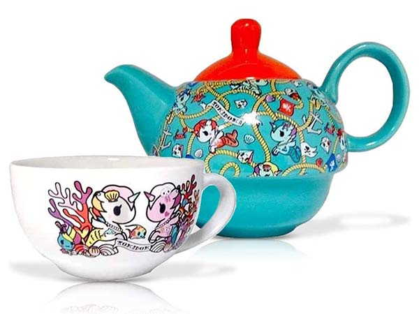 Toki Doki Decorative Ceramic Teapot Set