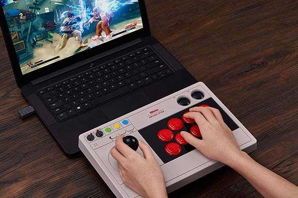 8Bitdo Wireless Arcade Stick for Nintendo Switch and Windows