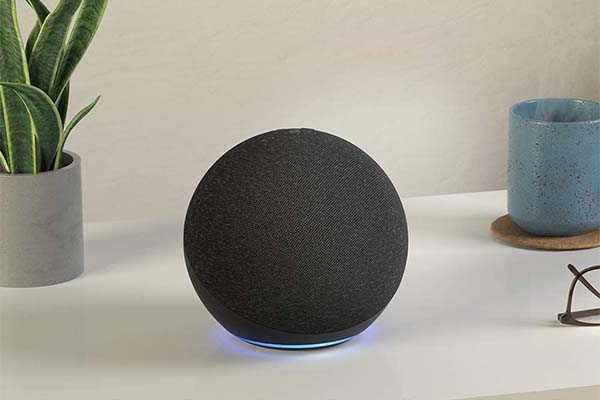 Amazon All-New Echo Smart Speaker with Alexa and Hub Built-in