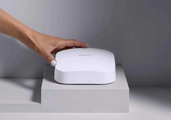 Amazon eero 6 Pro Tri-Band Mesh WiFi 6 Router with Zigbee Smart Home Hub