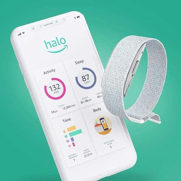 Amazon Halo Health and Fitness Tracker with Membership